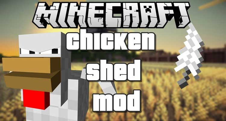 ChickenShed Mod 1.14.4/1.12.2 – Chickens Shedding Feathers