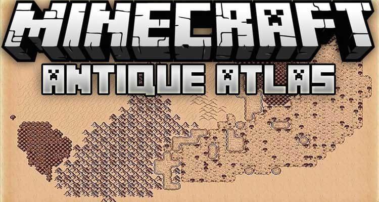 Antique Atlas Mod 1.14.4/1.12.2 – Fancy Interactive Map