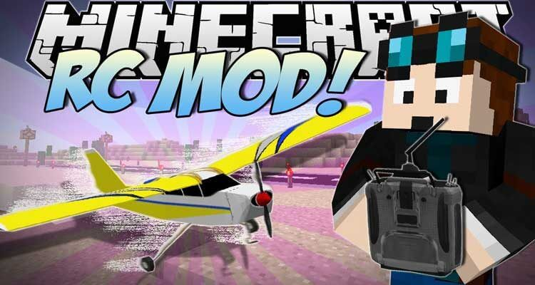 The RC Mod 1.14.4/1.12.2 – Remote Controlled Stunt Planes