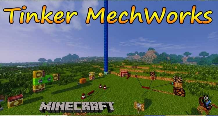 Tinkers' Mechworks Mod 1.14.4/1.7.10 – Adds Various Redstone Machines