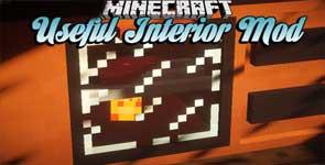 Useful Interior Mod 1.12.2 For Minecraft