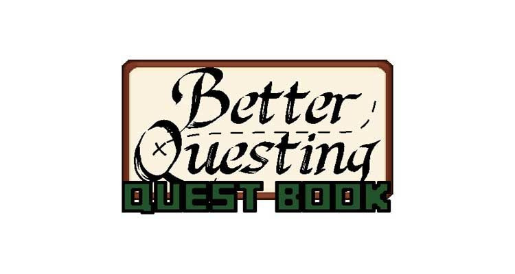 Better Questing Quest Book Mod 1.12.2/1.10.2 For Minecraft
