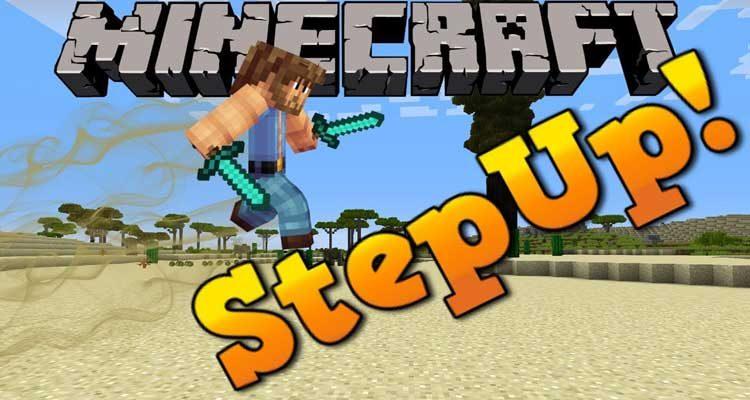 StepUp Mod 1.12.2/1.11.2 For Minecraft