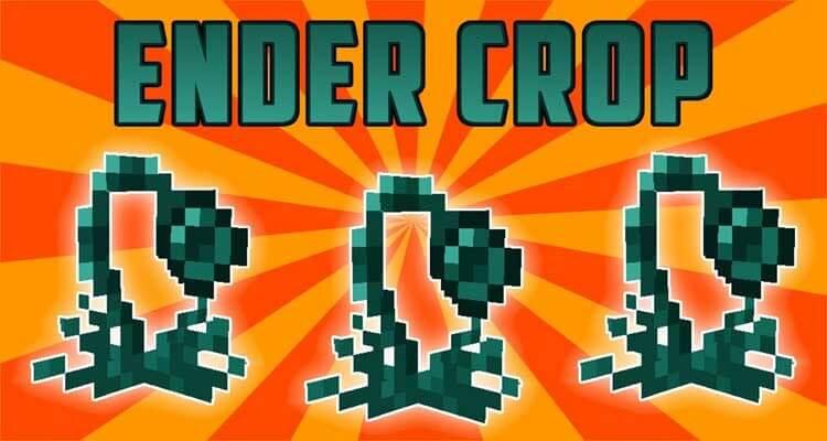 Ender Crop Mod 1.12.2/1.11.2 For Minecraft