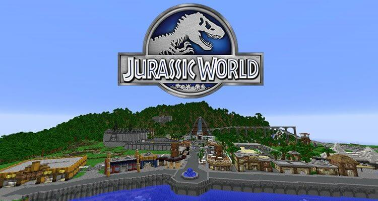 Jurassic World Map 1.12.2/1.10.2 for Minecraft