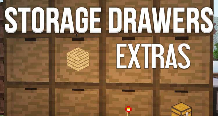 Storage Drawers Extras Mod 1.12.2/1.11.2
