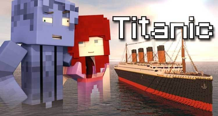 Titanic Map 1.12.2/1.12 for Minecraft
