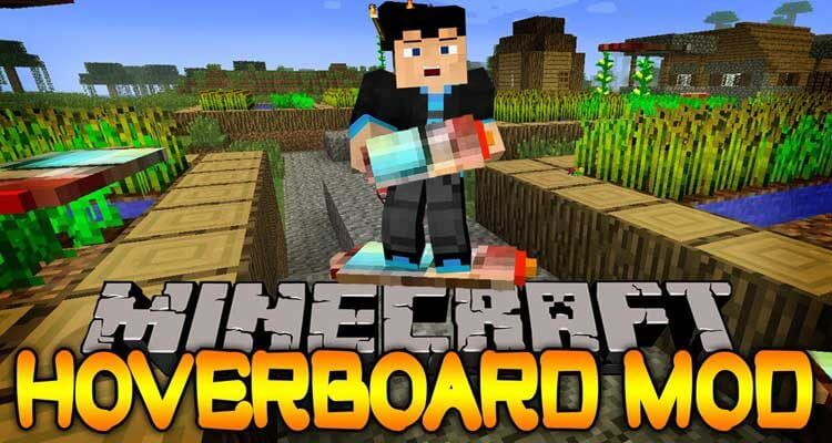 Yrsegal's Hoverboard Mod 1.12.2 For Minecraft