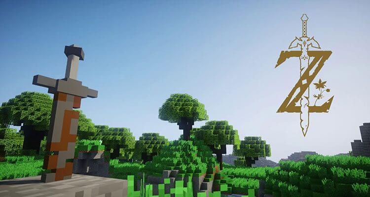 Zelda Breath of the Wild Map 1.12.2/1.11.2 for Minecraft