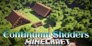 Continuum Shaders Mod 1.14.4/1.12.2 – Sunlight, Shadow Effects