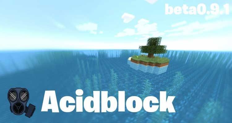 Acidblock Map 1.13.2 for Minecraft