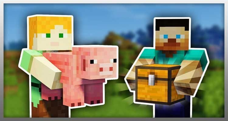 Carry On Mod 1.14.4/1.12.2 – Pick Up Blocks, Mobs in Your Hand