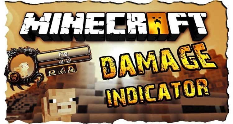 ToroCraft's Damage Indicators Mod 1.16.3/1.15.2/1.12.2