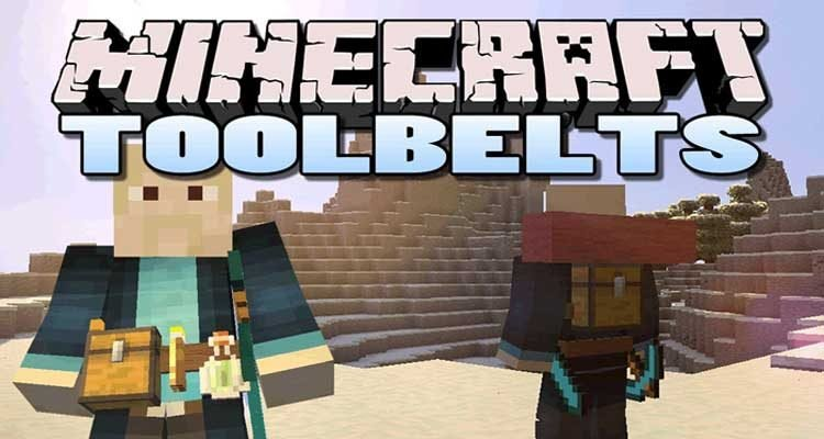 Tool Belt Mod 1.14.4/1.12.2 – Show Off Your Items