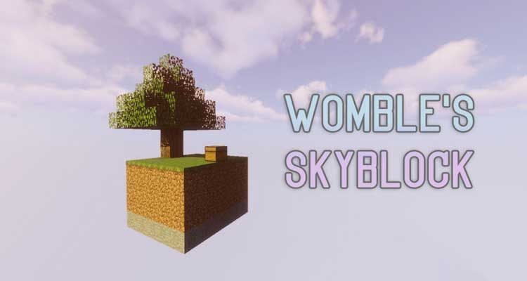 Womble's SkyBlock Map 1.13.2 for Minecraft