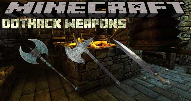 DotHack Weapons Mod 1.15.1