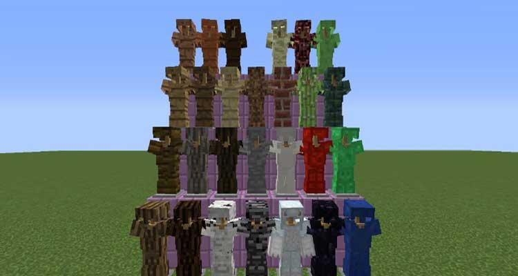 Block Armor Mod 1.12.2/1.11.2