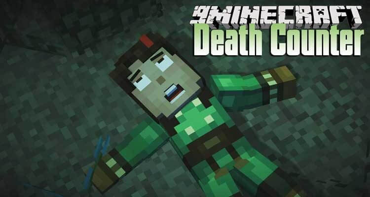 Death Counter Mod 1.14.4/1.12.2 – Calculate The Number of Deaths