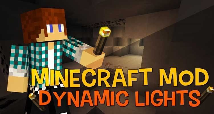 Dynamic Lights Mod 1.13.2/1.12.2 – Hold Light Sources in Your Hand