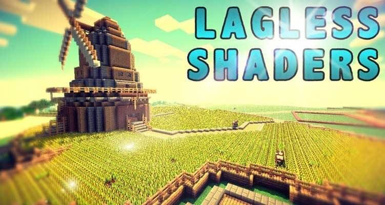 Lagless Shaders Mod 1.14.4/1.12.2 – Realistic Water, Grass