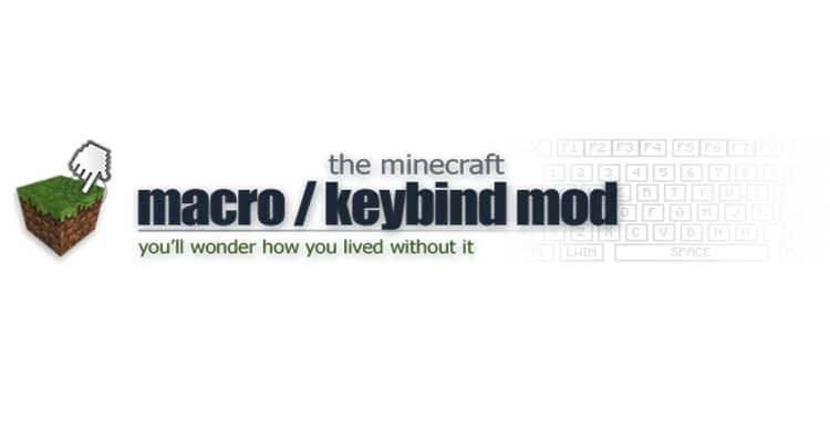 Macro/Keybind Mod 1.12.2/1.11.2 – Bind Commands to Keyboard Keys
