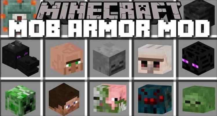 Mob Armor Mod 1.12.2 / 1.8.9 – Turn Into Mobs, Gain Their Abilities