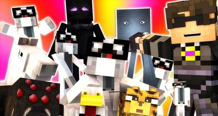 More Player Models Mod 1.12.2/1.11.2 – Become Mobs, Animations
