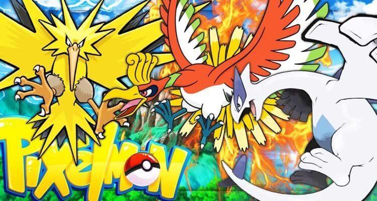 Pixelmon Mod 1.12.2/1.10.2 – Pokemon in Minecraft
