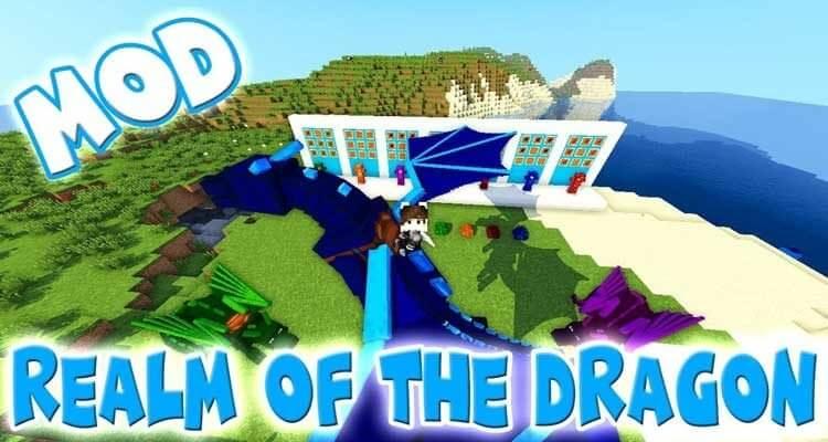Realm of The Dragons Mod 1.12.2/1.11.2 – Dragon Mounts Remake