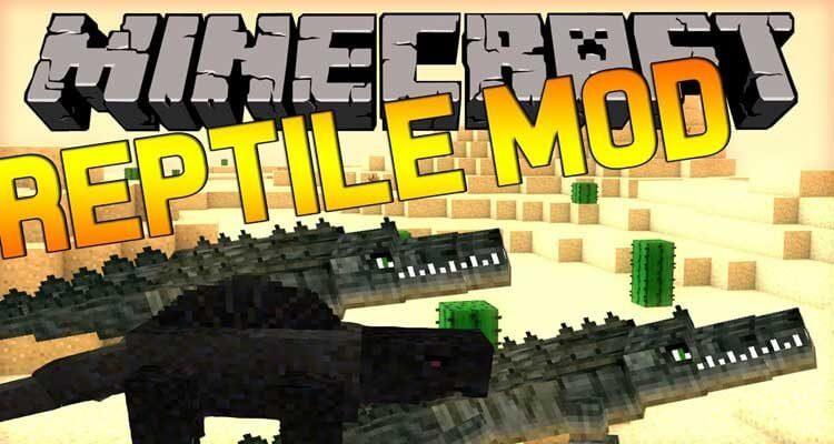 Reptile Mod 1.12.2/1.11.2 – Turtles, Crocodiles, Lizards