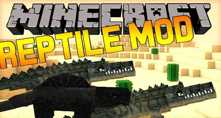 Reptile Mod 1.12.2/1.11.2