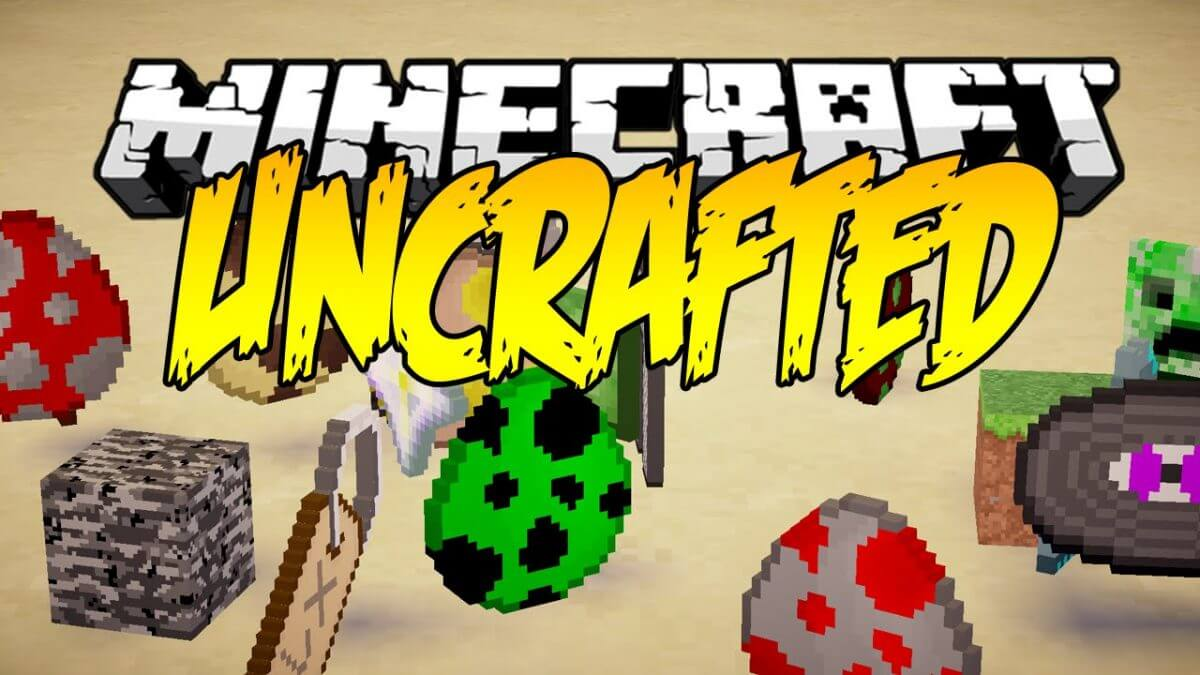 Uncrafted Mod 1.14.4/1.12.2 – Craft Anything In The Game