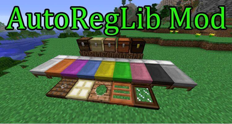 AutoRegLib Mod 1.15.2/1.14.4/1.12.2