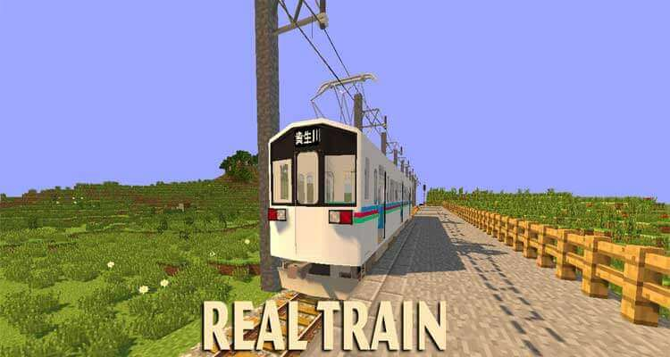 Real Train Mod