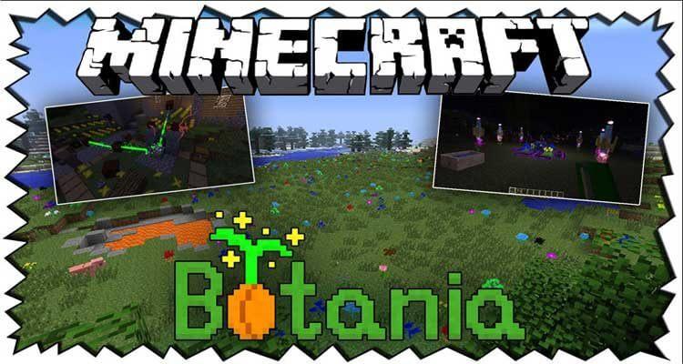 Botania Mod 1.12.2/1.11.2 – Magic Tech Based on Nature