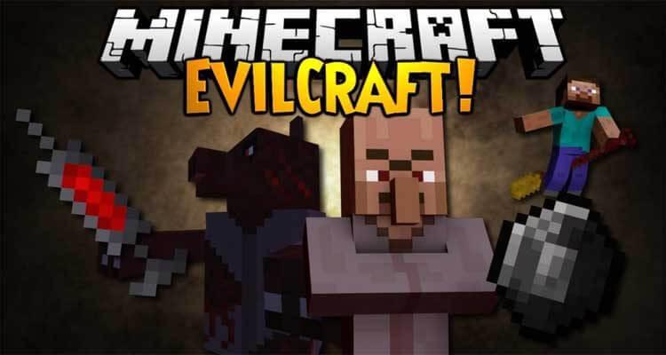 EvilCraft Mod 1.12.2/1.11.2 – Werewolves, Farts, Blood Magic