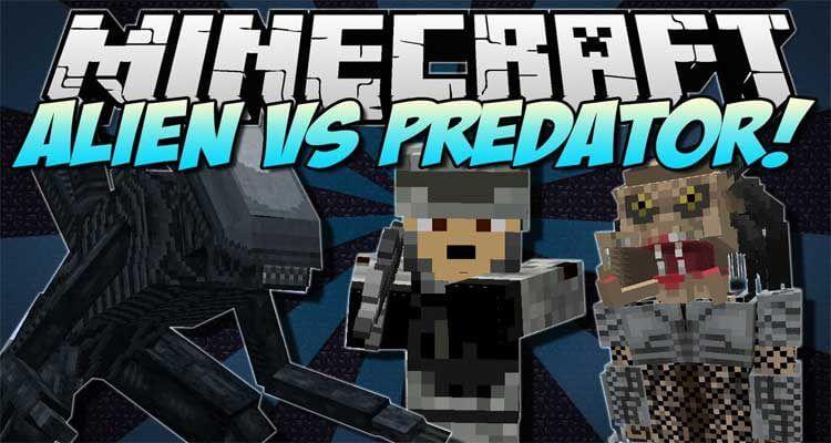 Aliens vs Predator Mod 1.12.2/1.10.2 – Prometheus Integration