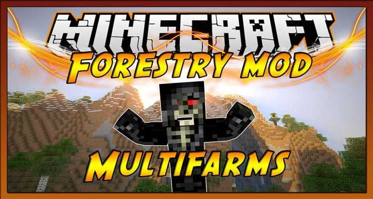 Forestry Mod 1.12.2/1.11.2 – Farms, Trees, Bees and more
