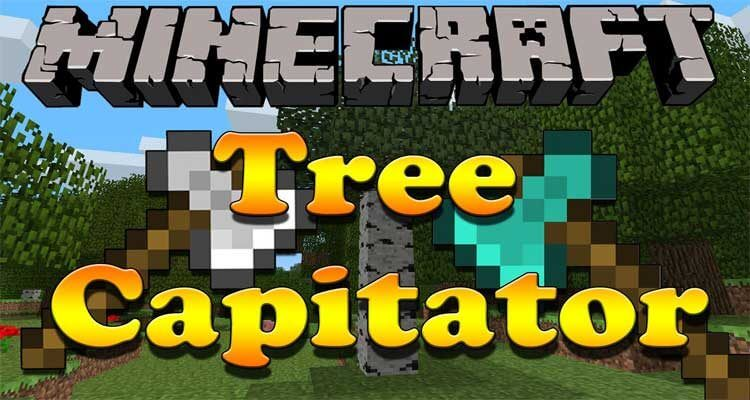 TreeCapitator Mod 1.12.2/1.11.2 – Speed Up The Removal of Trees