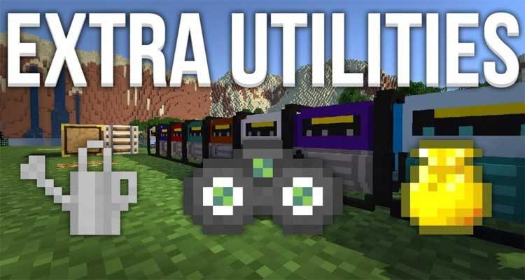 Extra Utilities Mod 1.12.2/1.11.2 – Plenty New Useful Tools