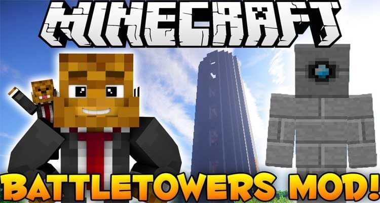 Battle Towers Mod 1.12.2/1.11.2 – Tower of Crazy Death