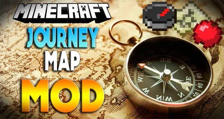 JourneyMap Mod 1.15.2/1.12.2/1.7.10