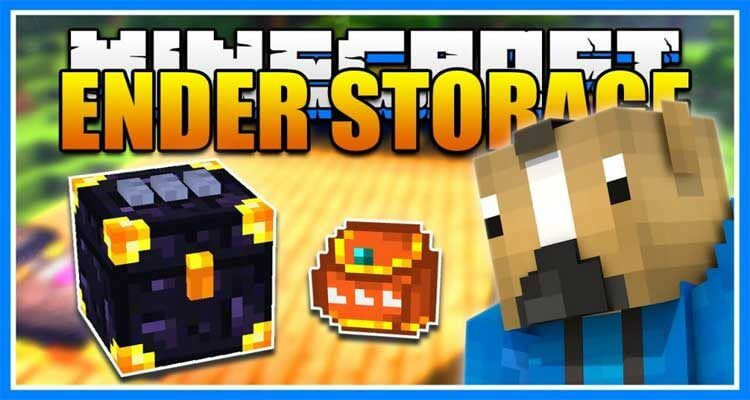 Ender Storage Mod 1.12.2/1.11.2 – Teleport Your Items