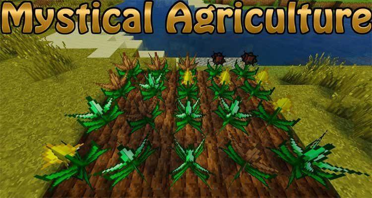 Mystical Agriculture Mod 1.16.1/1.15.2/1.14.4