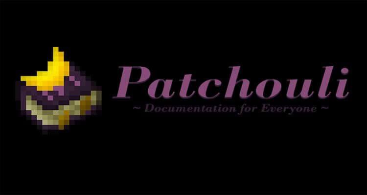 Patchouli Mod 1.16.5/1.15.2/1.12.2