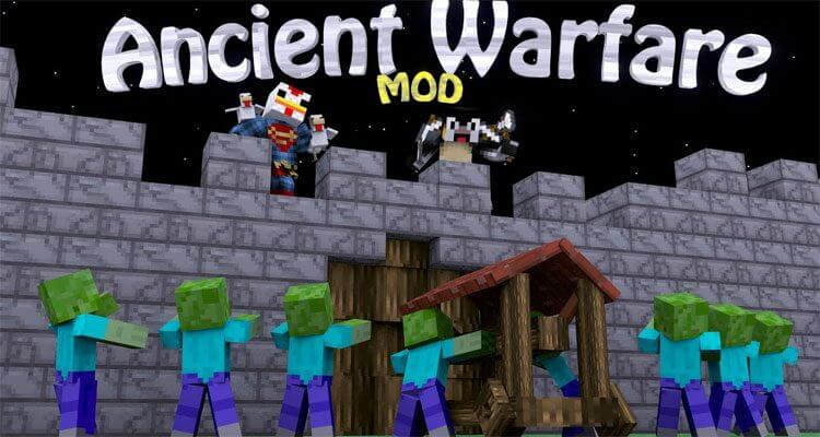 Ancient Warfare Mod 1.12.2/1.7.10 – NPCs, Farms, Quarries