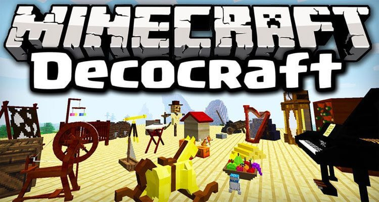 DecoCraft Mod 1.12.2/1.11.2 – Decorate Your World
