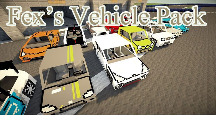 Fex's Vehicle Pack 1.12.2 – New Vehicles and Models