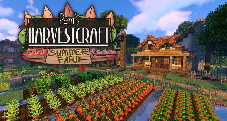 HarvestCraft Mod 1.12.2/1.11.2 – More Foods, Plants, Crops