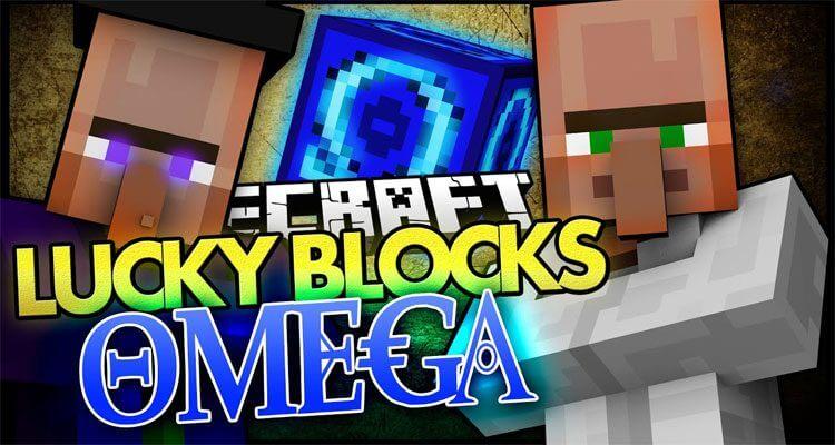 Lucky Block Omega Mod 1.12.2/1.7.10 – Dr Trayaurus, Bob's Grandma